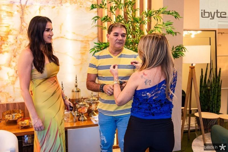 Luciana Carioca, Luciano Rocha e Adelia Albuquerque