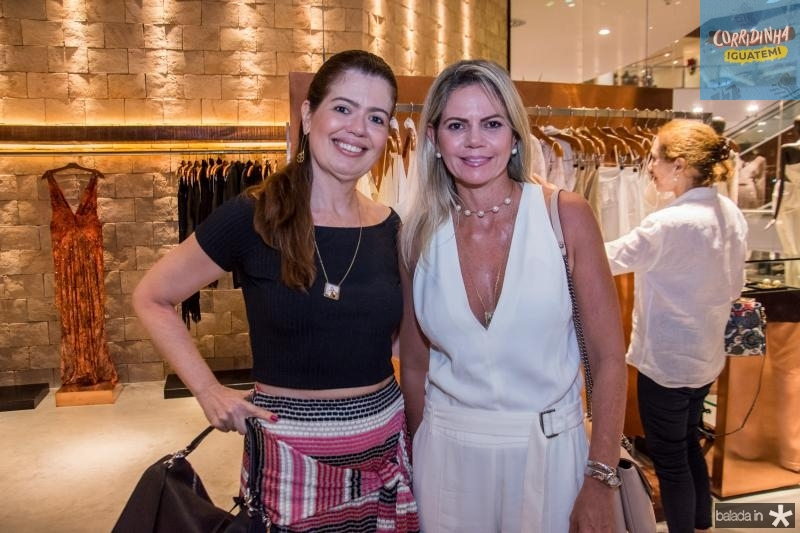 Luciana Fialho e Layla Fujita