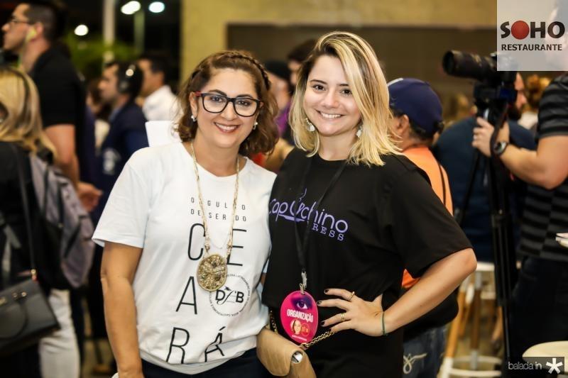 Helena Silveira e Carla Benevides