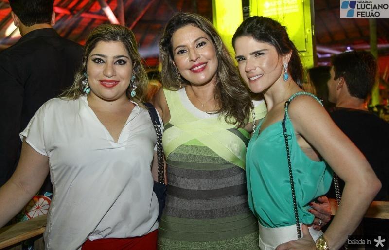 Manu Romcy, Debora Nibon e Marilia Vasconcelos