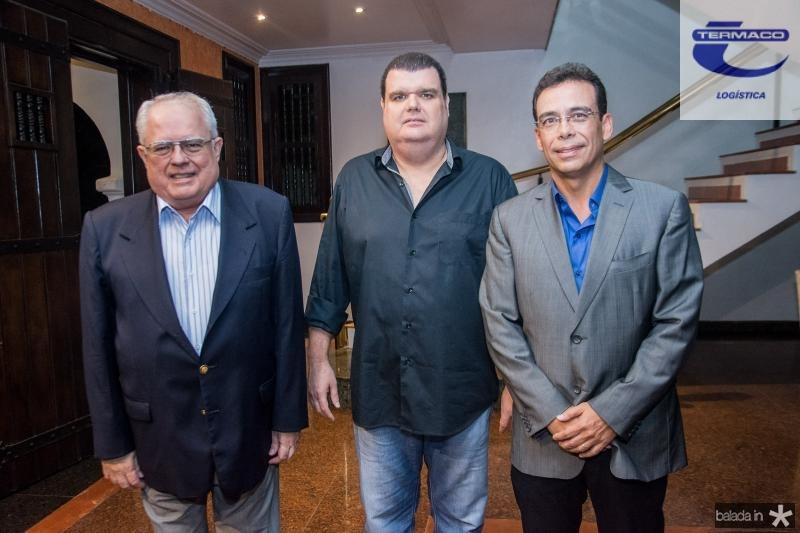 Gonzaga Mota, Gonzaga Filho e Gustavo Porto