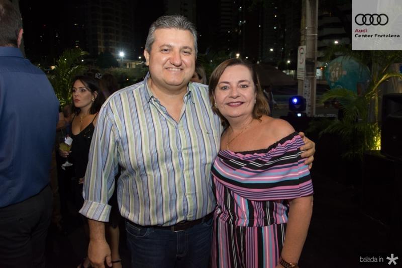Humberto e Cinara Feitosa