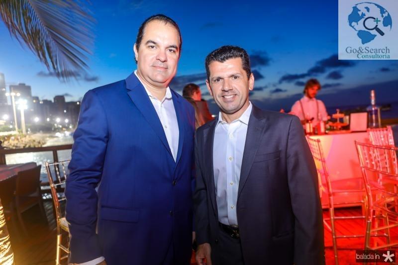 Leo Albuquerque e Erick Vasconcelos