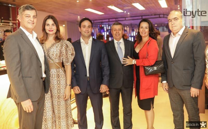 Cid e Joyce Marconi, Tiago Asfor, Anastacio e Cristiane Marinho, Helio Parente