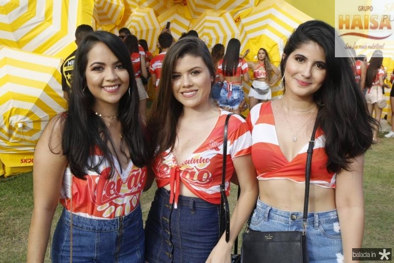 Rayana, Aline e Aixa Fortaleza