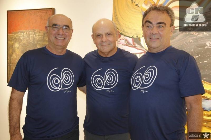Savio Pinto, Bergson Parente e Batista Fontenele