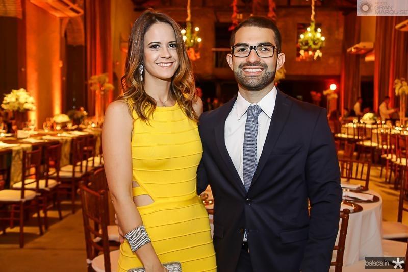Raquel Felismino e Icaro Saldanha