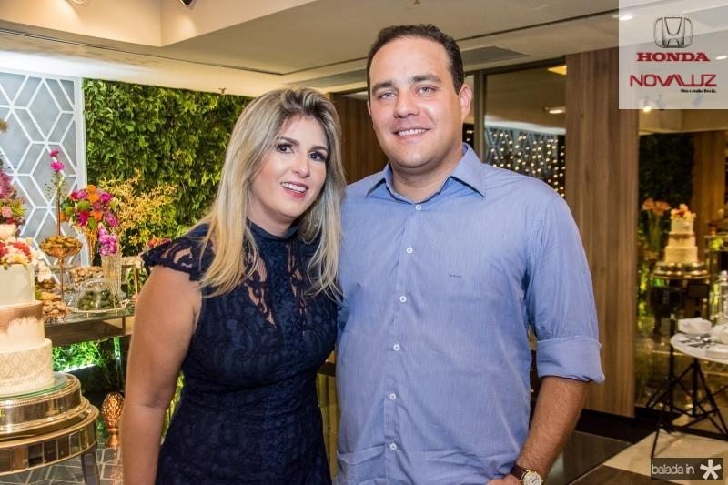 Ticiana Moreira e Rodrigo Teles