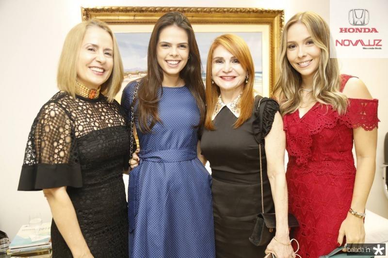 Teresa Ximenes, Maria Isabel, Veronica Gomes de Matros e Rafaela Asfor