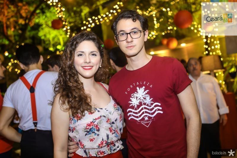 Mariana Viana e Gabriel Farias