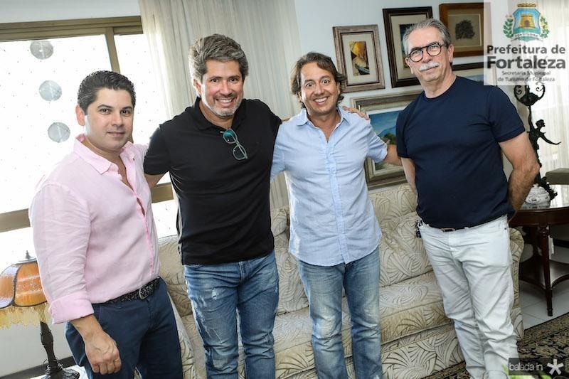 Pompeu Vasconcelos, Fernando Rodrigues, Rodrigo e Eugênio