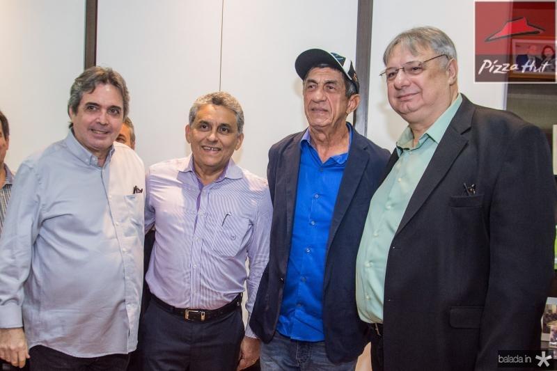 Totonho Laprovitera, Fanger Lopes e Moroni Torgan