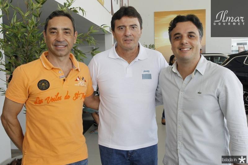 Ronaldo Munhoz, Luiz Teixeira e Michele Abatemarco