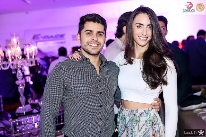 Renan Mesquita e Fernanda Castelo