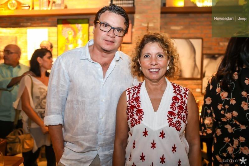 Celio Veras e Sandra Montenegro