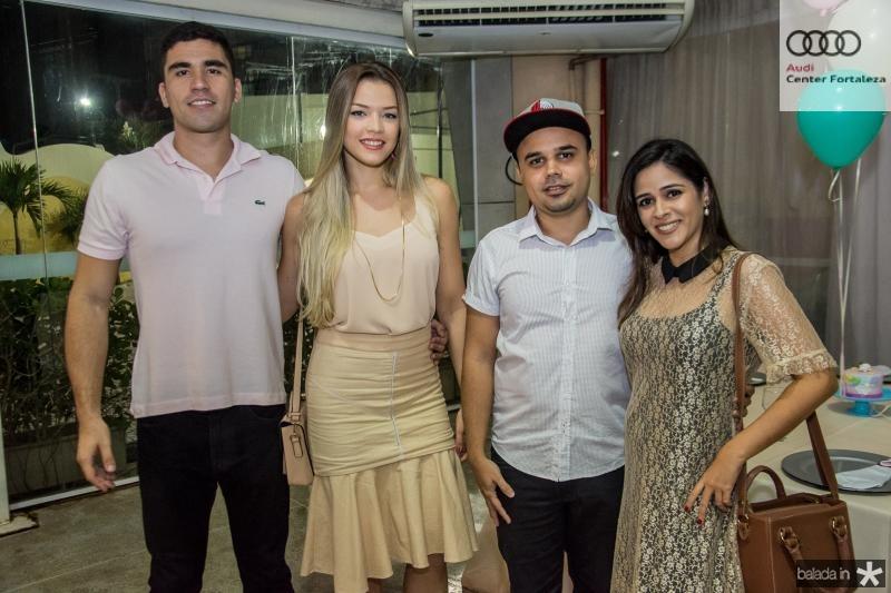 Hudson Sales, Melina Goes, Marcio Cid e Marciana Menezes
