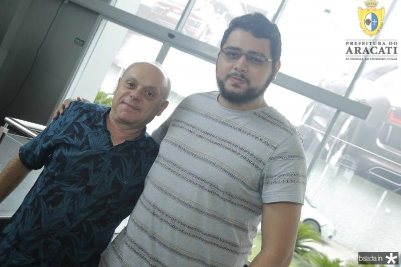 Aquiles Gomes e Felipe Santana