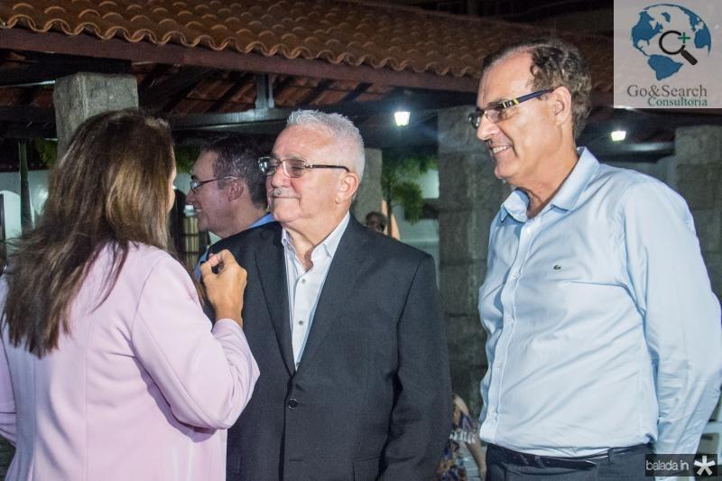 Ana Luiza Costa Lima, Alcimor Rocha e Urbano Costa Lima