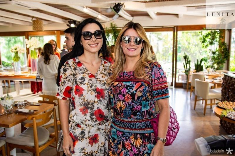 Daniele Linheiro e Tatiana Luna