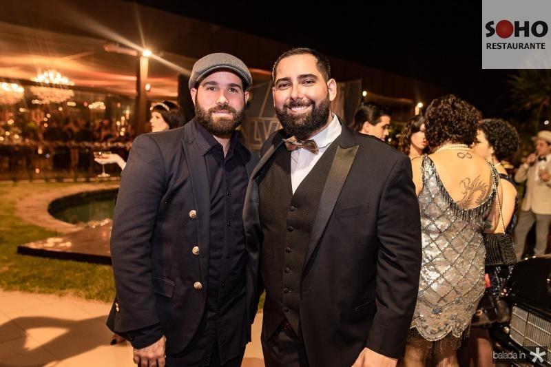 Felipe Rocha e Luiz Victor Torres