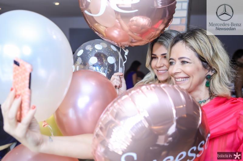 Jeritza Gurgel e Andrea Fialho