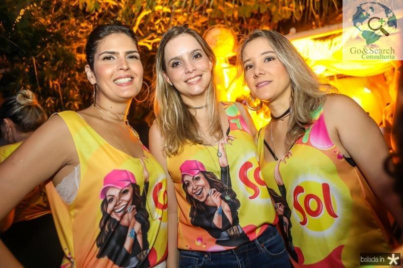 Karina Jales, Andreza Pontes e Alice Costa
