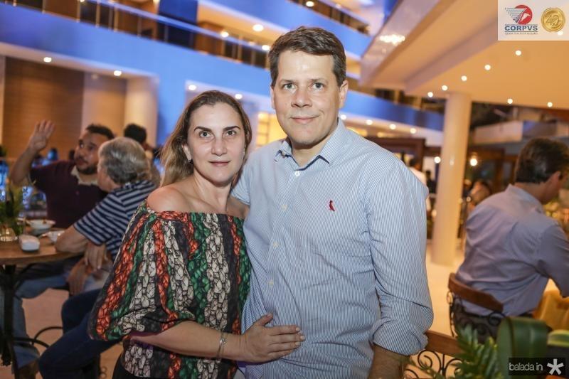 Cintia e Marcelo Ponte