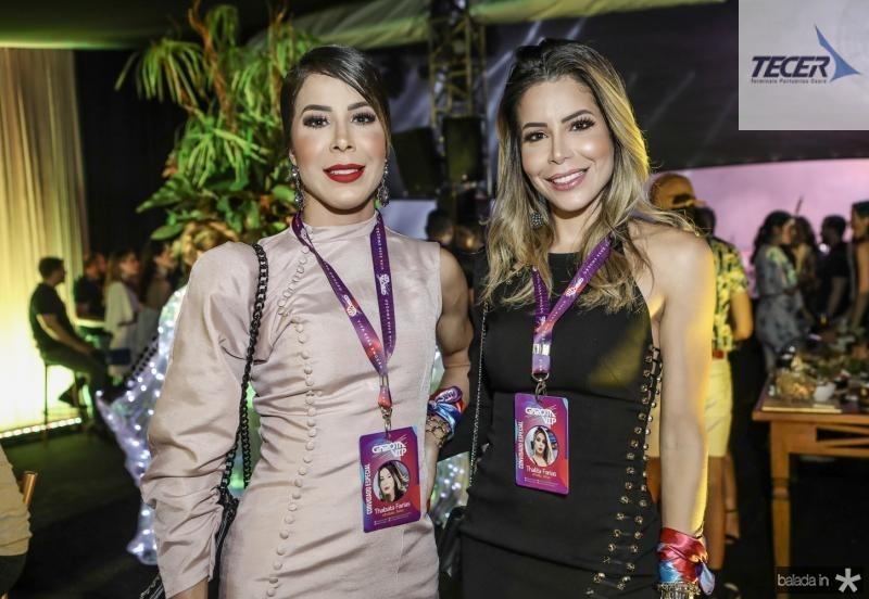Thabata e Thalyta Farias