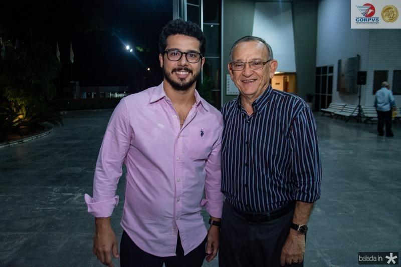 Rafael Fujita e Fred Saboia