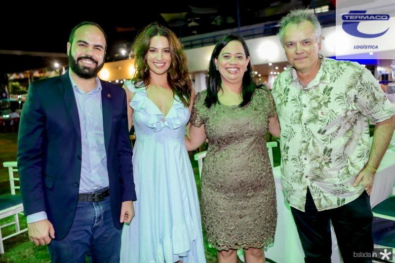 Italo Gadelha, Laura Ramos, Milene Pereira e Wouney Oliveira
