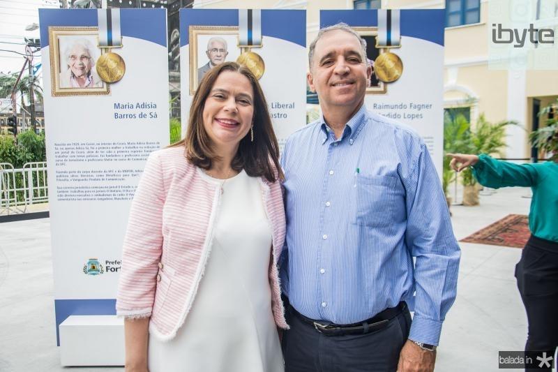 Ana Flavia Chaves e Elisio Alcantara Neto