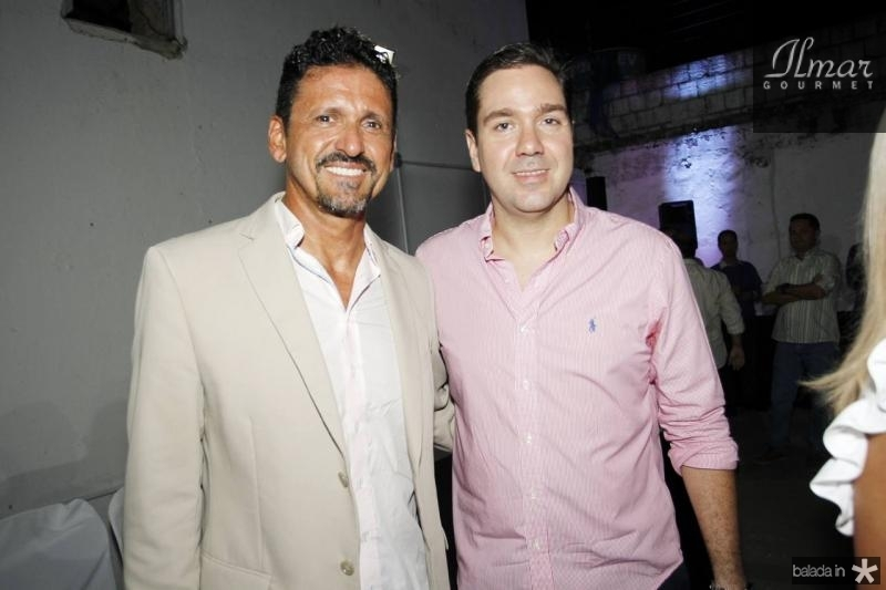 Roberto Lopes e Eduardo Bismarck