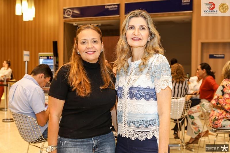 Jeane Magalhaes e Laura Paiva
