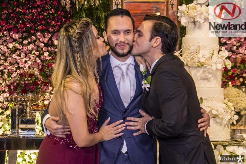 Susana, Roberto e Rodrigo Cabral