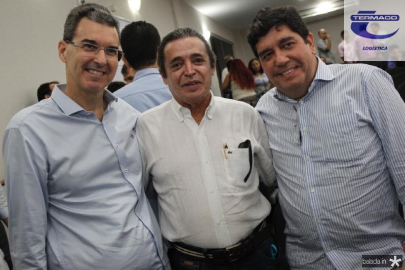 Geraldo Luciano, Cabeto Martins e Carlos Castelo