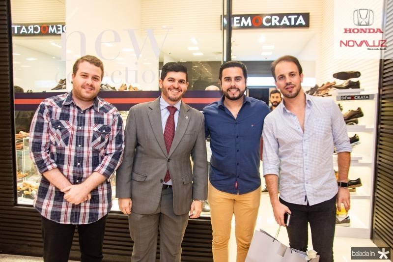 Felipe Caezar, Daniel Aragao, Rodrigo Nobrega e Luiz Victor