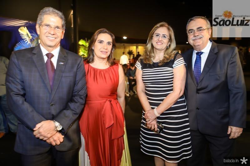 Ramalho Neto e Isabela Ramalho, Edna e Assis Cavalcante