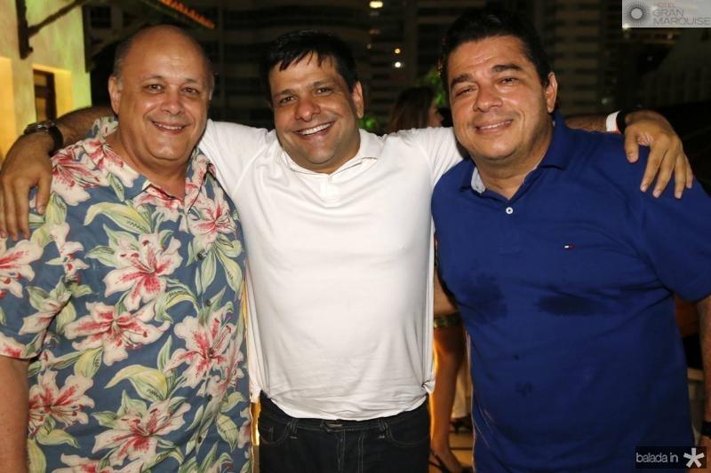 Philomeno Junior, Duda Soares e Juarez Braga