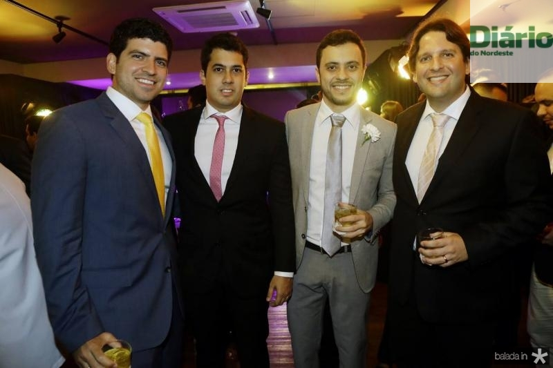Lucas Camara, Arthur Bazerra, Bruno Bastos e Daniel Simoes