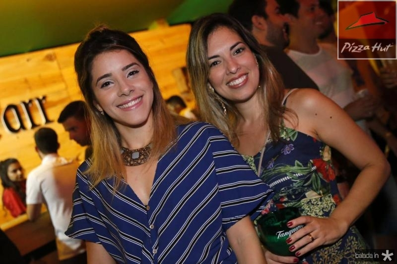Elane Alves e Emanuelle Campos