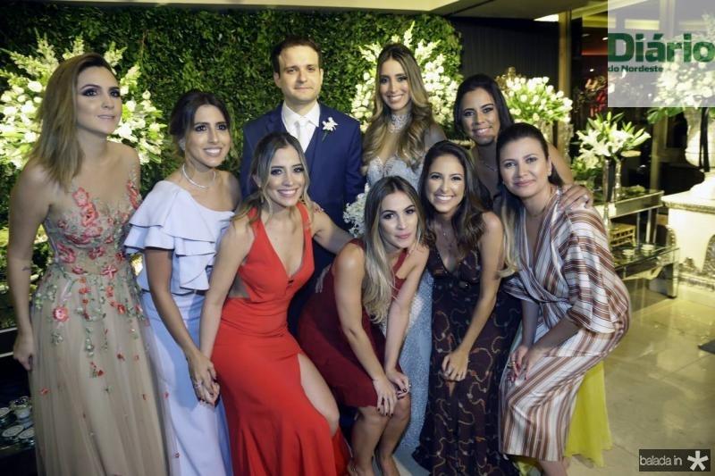 Vanessa Custodio, Tayra Romcy, Mikaela Botura, Rafael Lobo, Nathalia Ximenes, Mariane Melo, Ana Mourao, Rebeca Parente e Yane Bezerra