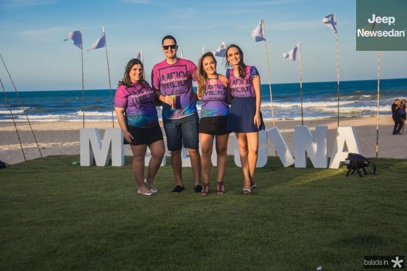 Ticiana Guimaraes, Daniel Saldanha, Leticia e Enir Ribeiro