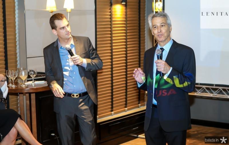 Felipe Teixeira e David Eisner