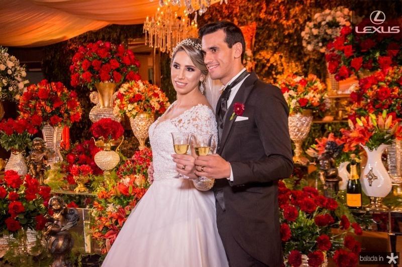 Jessica Dartora e Antonio Airton Pontes