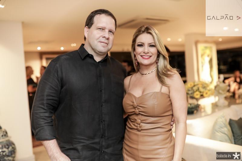 Edson Ventura Filho e Tatiana Luna