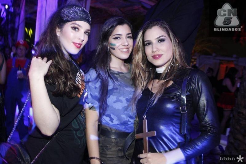 Mirela Fortes, Lara Costa e Sarah Alves