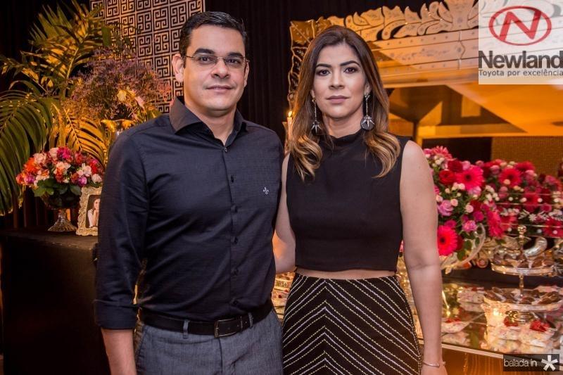 Marcelo Almeida e Rafaela Mota