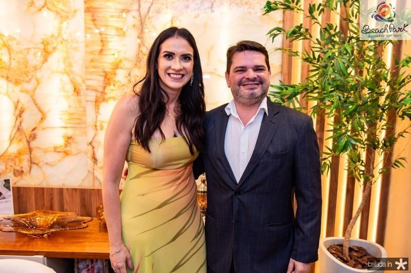 Luciana Carioca e Fernando Martins