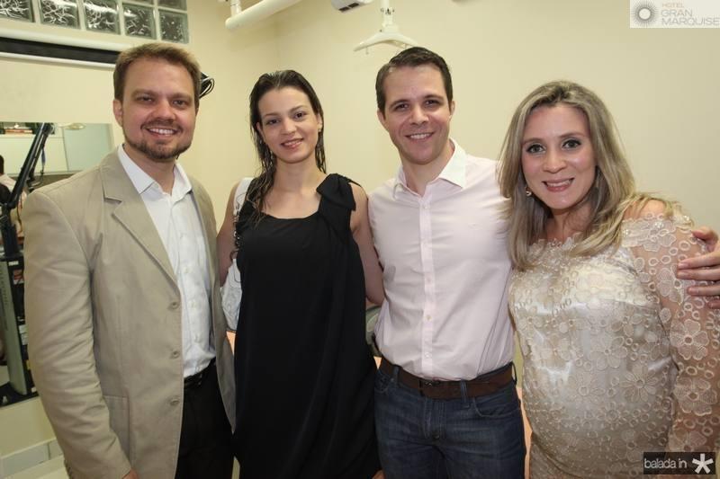 Valderi Vieira, Juliana Furtado, Alejandro Lusardo e Olga Saraiva