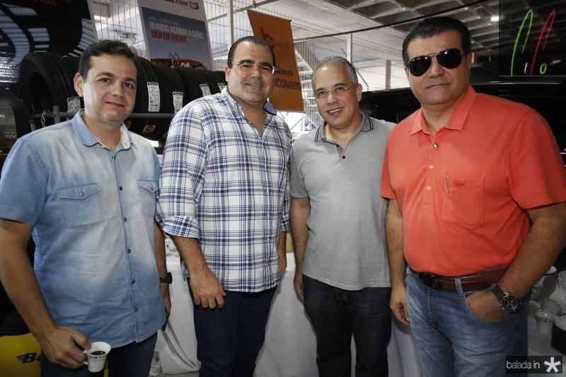 Gustavo Essolari, Luciano Cavalcante Neto, Stenio Bastos e Odimar Feitosa